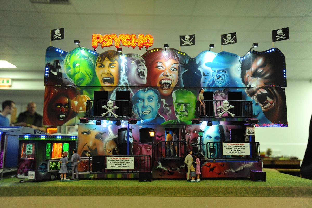 Psycho model fairground
