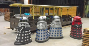 Modelworld 2013 final shot Volks railway and Daleks